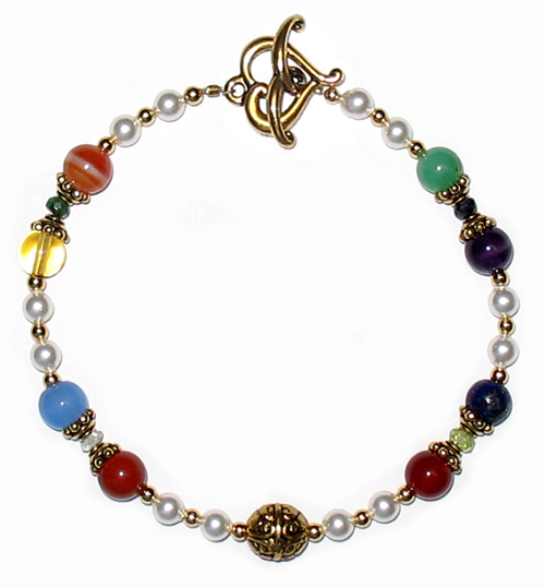 New Jerusalem Bracelet Small Round Beads