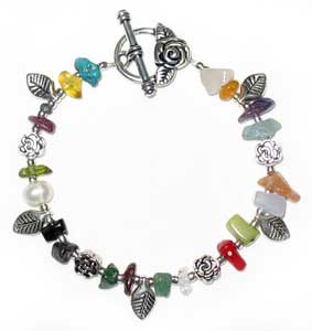 Rose of Sharon Bracelet